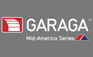 Garaga Mid-America 4 colors cmyk and white logo