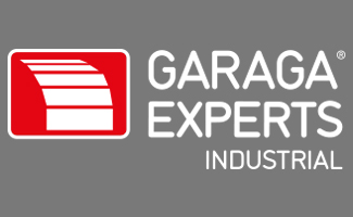 Garaga Experts Industrial white logo