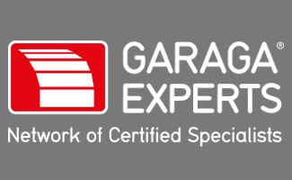 Garaga Experts white logo
