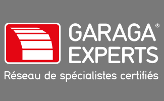 logo Garaga Experts blanc