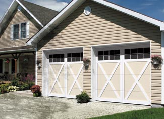 Eastman E-21, 9' x 7', Desert Sand door and Ice White overlays, Panoramic 8 lites