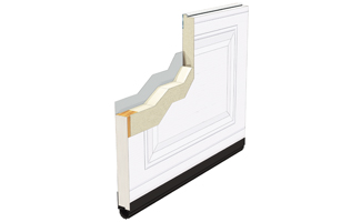 Panels - Residentials, Standard+ Classic CC, 1 3/4, Polyurethane - R-16