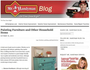 Mr. Handyman Blog
