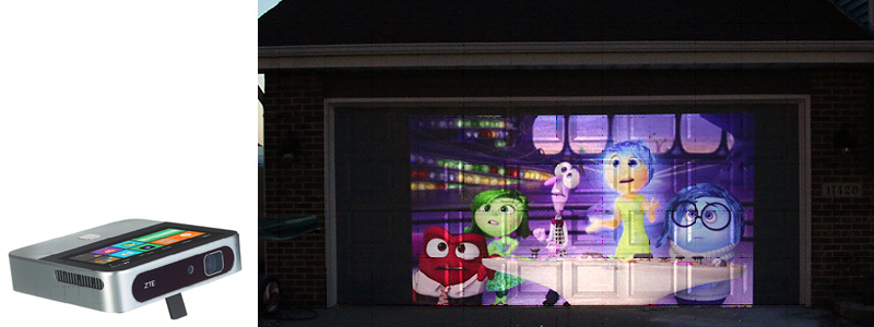 Garage door decoration