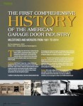The First Comprehensive History of the American Garage Door Industry
