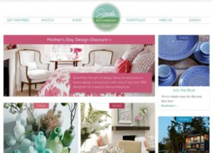 Sarah Richardson Design Website