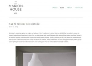 The Marion House BookWebsite