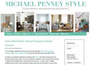 Michael Penney Style Website