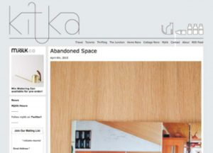 Kitka Design Toronto Website