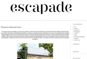 Escapade Website