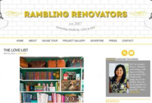 Rambling Renovators Website