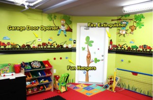 perfect playroom for her kids