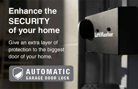 Banner Automatic Garage Door Lock