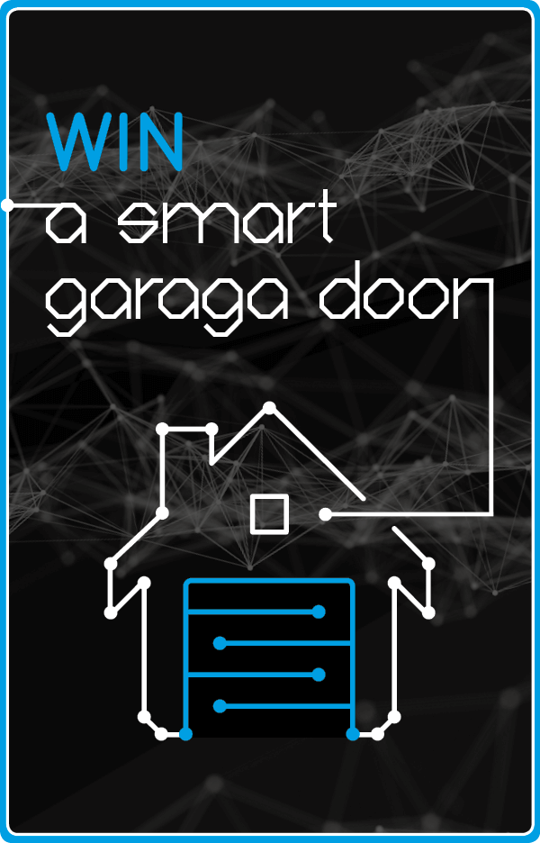 Win a Smart Garaga Garage Door contest