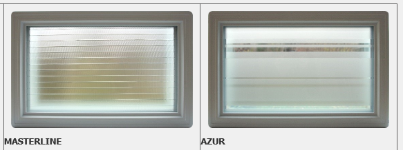 Two new window designs: Azur and Masterline