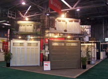 See Garaga door models at the following home shows... in Canada: