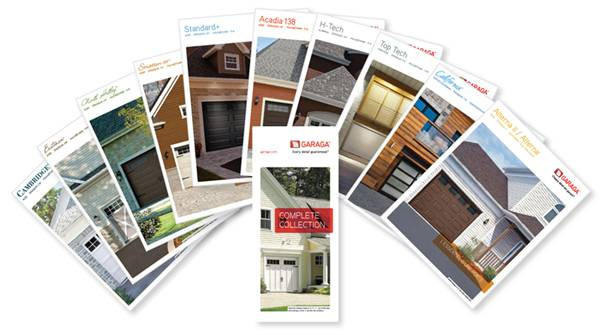 New residential oroduct brochures