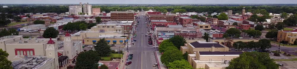 Ponca City in Oklahoma