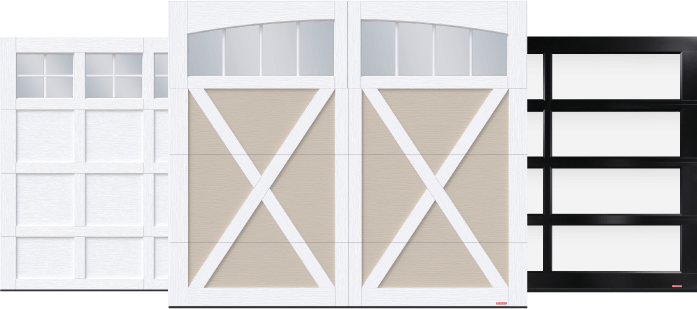 Cambridge, Eastman and California Garage Doors