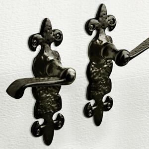 Decorative Hardware - Handmade wrought iron texture