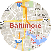 Map Baltimore