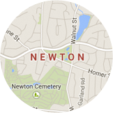 Many certified installers serving Newton