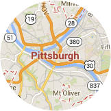 Many certified installers serving Pittsburgh