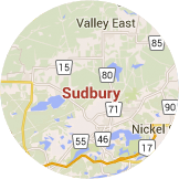 Many certified installers serving Sudbury