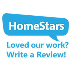 HomeStars - Loved Our Work? Write a Review!