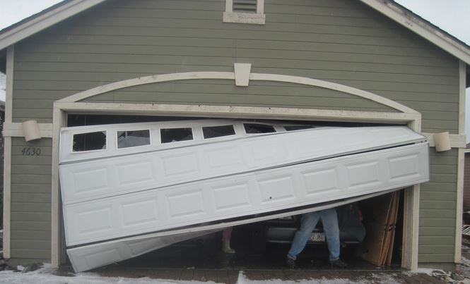 When a garage door panel gets damaged, you are able to replace just one of them instead of the whole door.