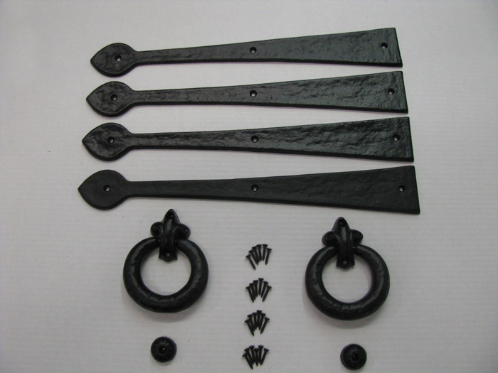 Door knockers, Antique wrought iron