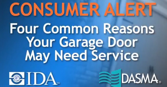 Four Common Reasons Your Garage Door May Need Service
