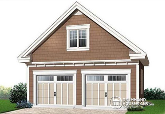 Plan for detached garage (Plan 2989-28)