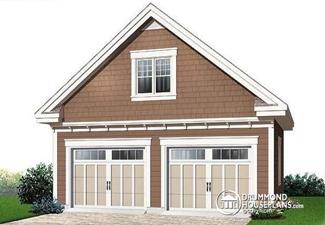 construire un garage d tach de la maison garaga. Black Bedroom Furniture Sets. Home Design Ideas