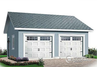 Plan for detached garage (Plan 2994)