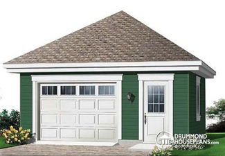 House plan with garage (Plan W2991)