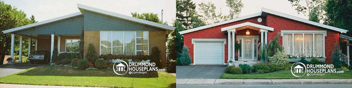 Transform a carport into a garage, renovation work, extreme transformation