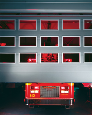 Overhead doors 12 ft x 12 ft, Emergency Services