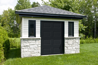 Garage door for 5' x 7' shed