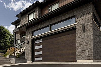Porte de garage double (16' x 7')