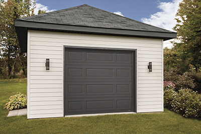 Single doors, big garage