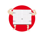 Garage doors are a tough breed