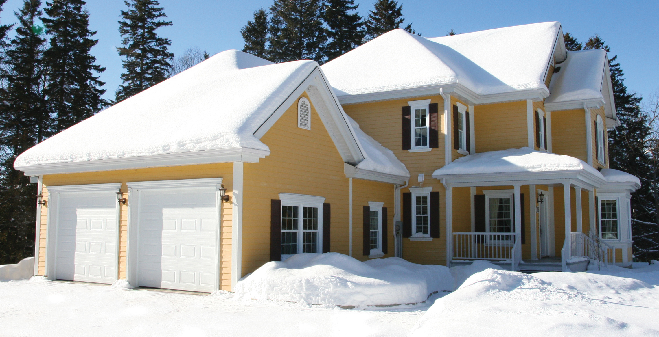 Insulated garage doors, energy efficient, weathertight door