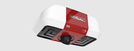 The new LiftMaster garage door opener #85503 offers a built-in camera and  Two-Way Audio. Control your garage door with your smart phone.