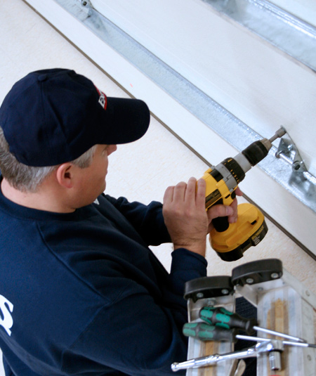 Preventive maintenance residential garage door
