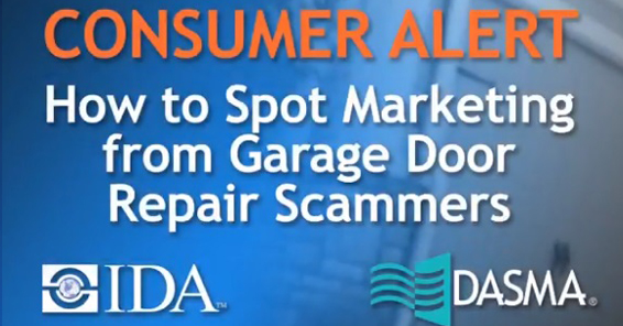 How to Spot Marketing from Garage Door Scammers