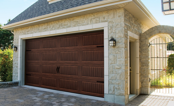 Double garage door for 2 cars