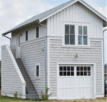 why add an apartment over a detached garage garaga