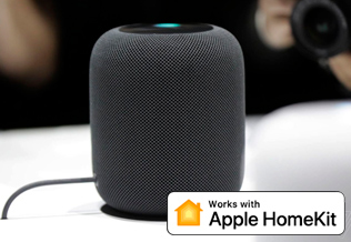 Voice control with Apple HomePod