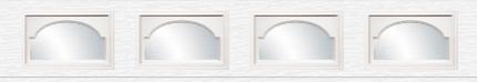 Applique décorative Cathédrale - 21po x 13po